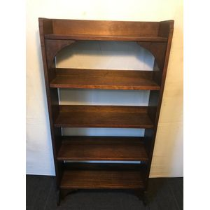 Antique Oak Bookshelf