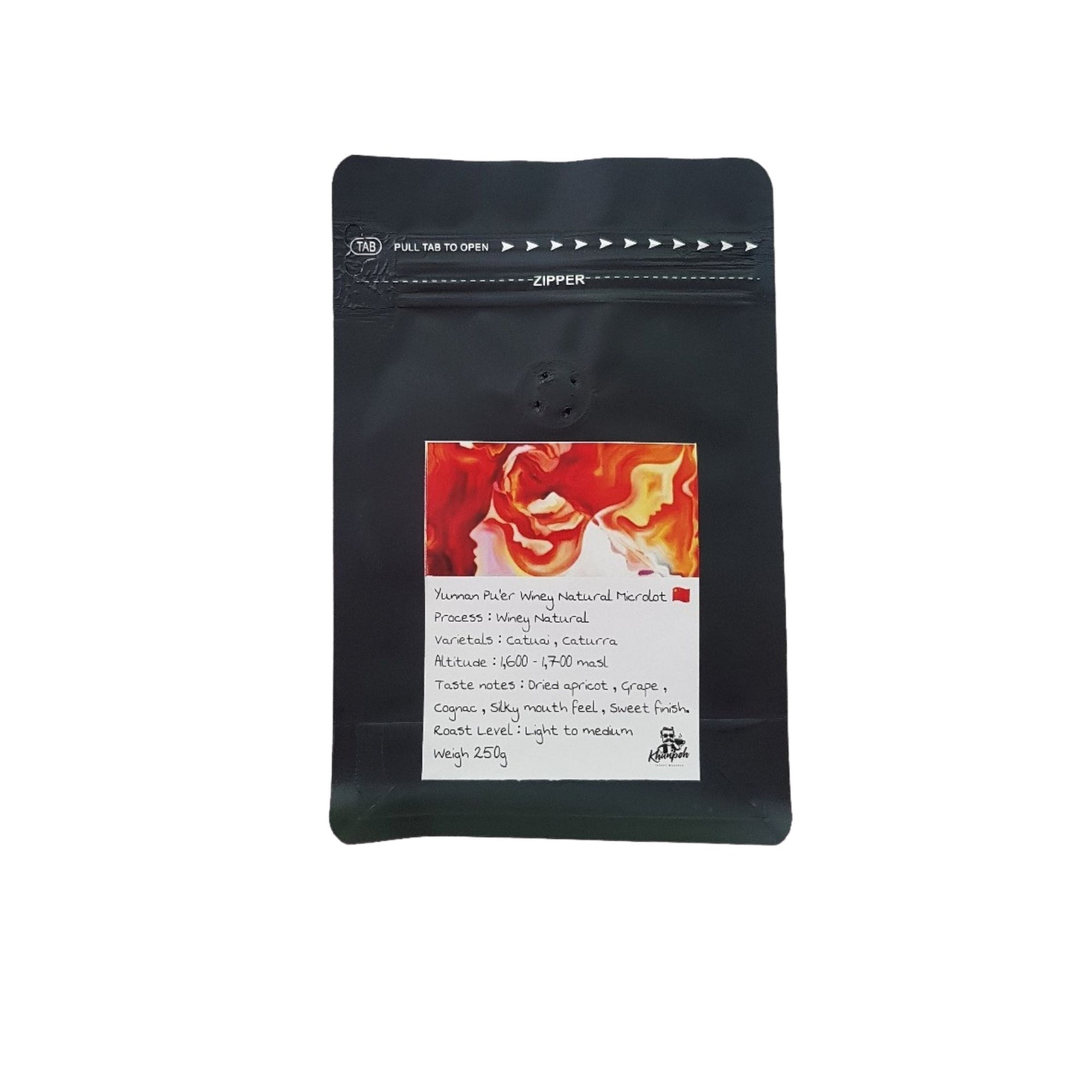 Yunnan Pu'er Winey Natural Microlot 500g