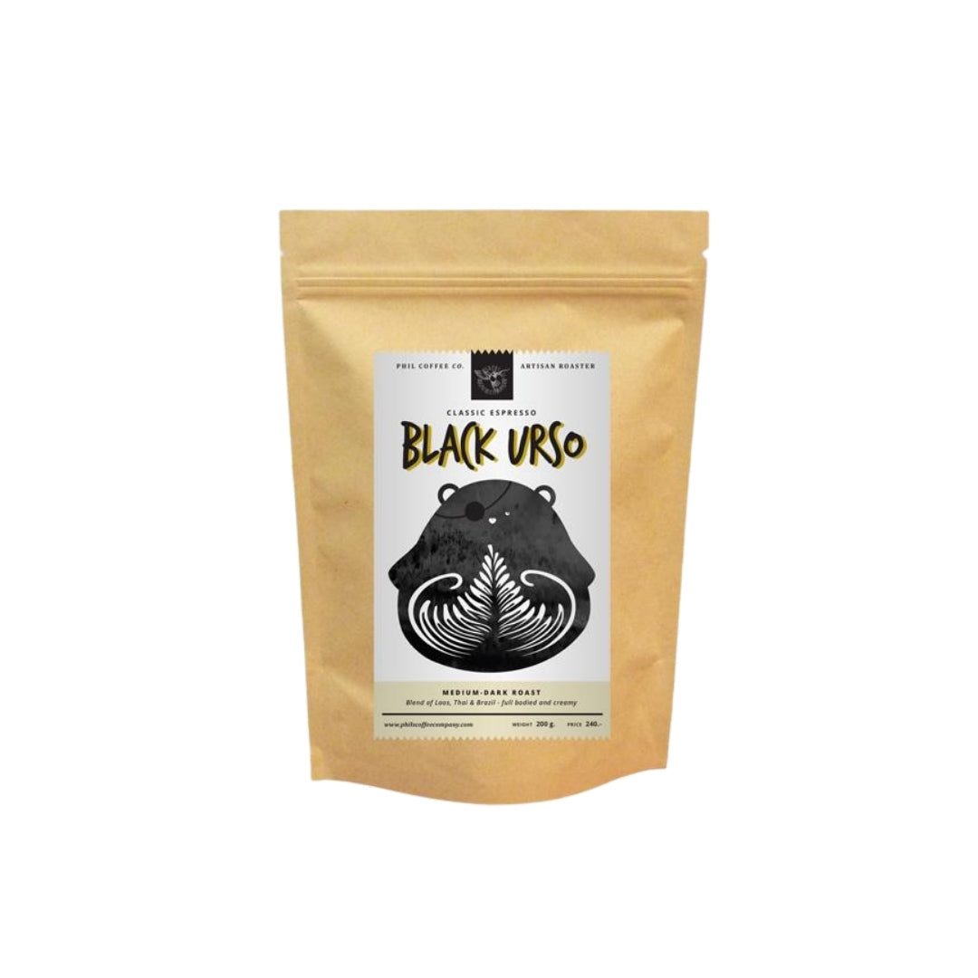 Black Urso Laos Thai Brazil 200g