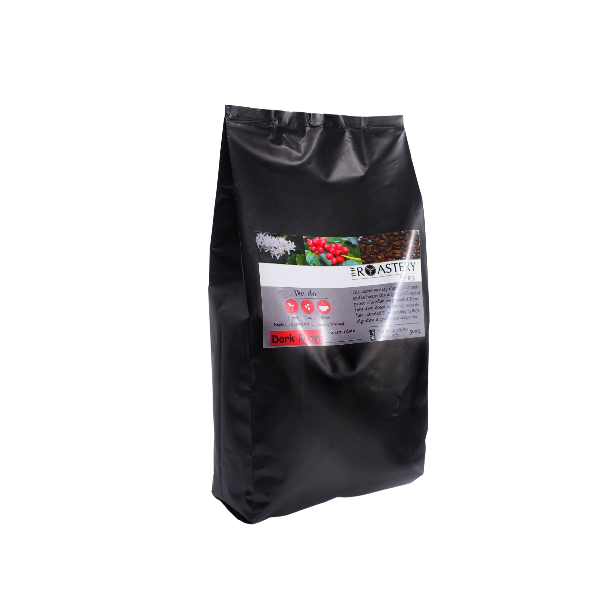 Chiangrai Pangkhon washed Dark Roast 500g