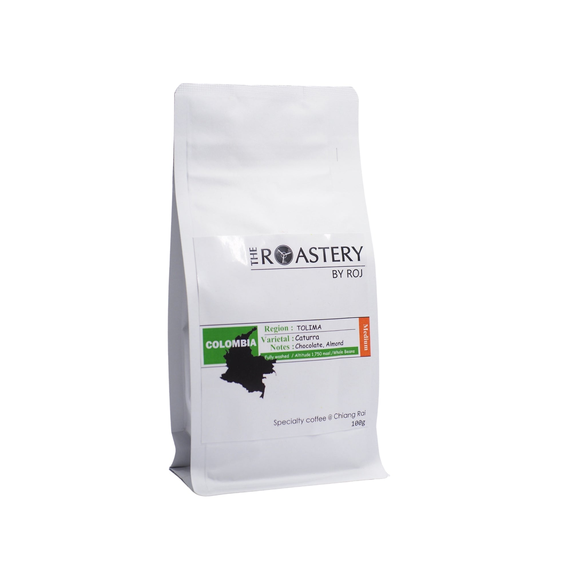 Colombia tolima washed caturra 100g