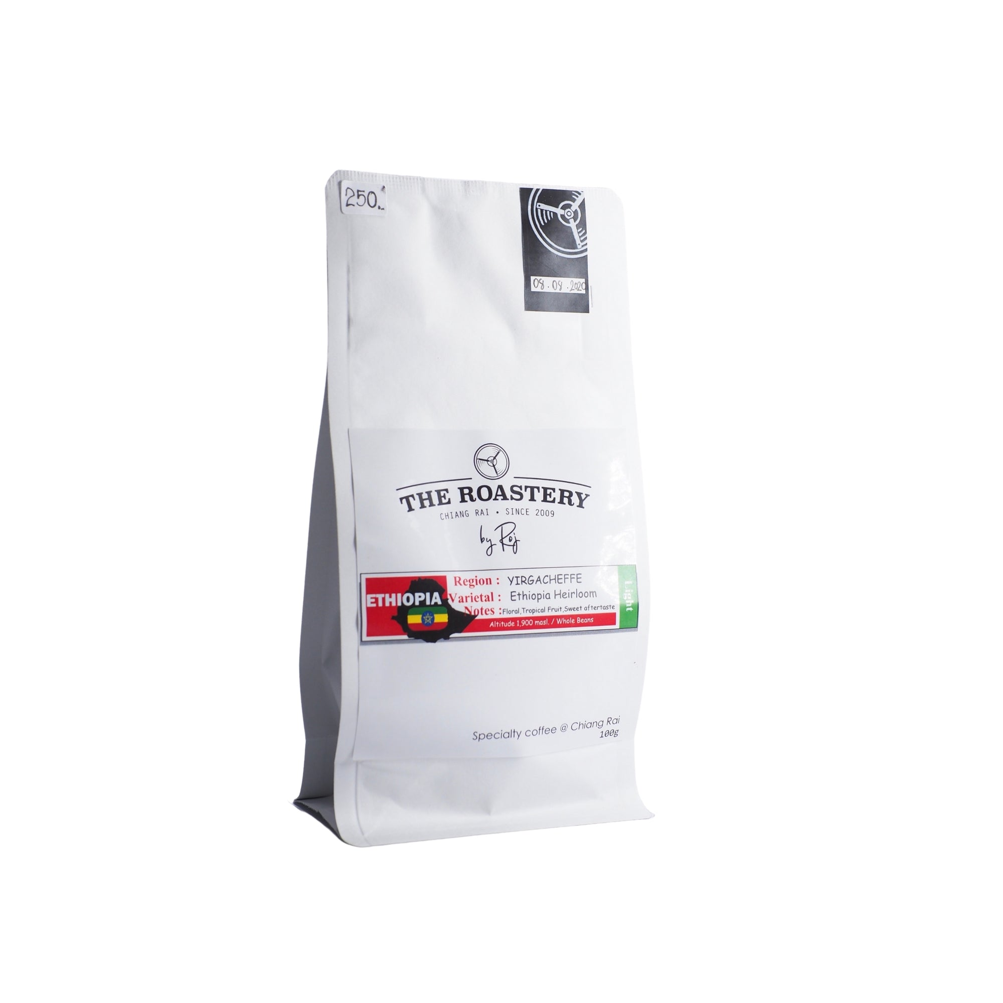 Ethiopia Yirgacheffe heirloom Natural Process 100g