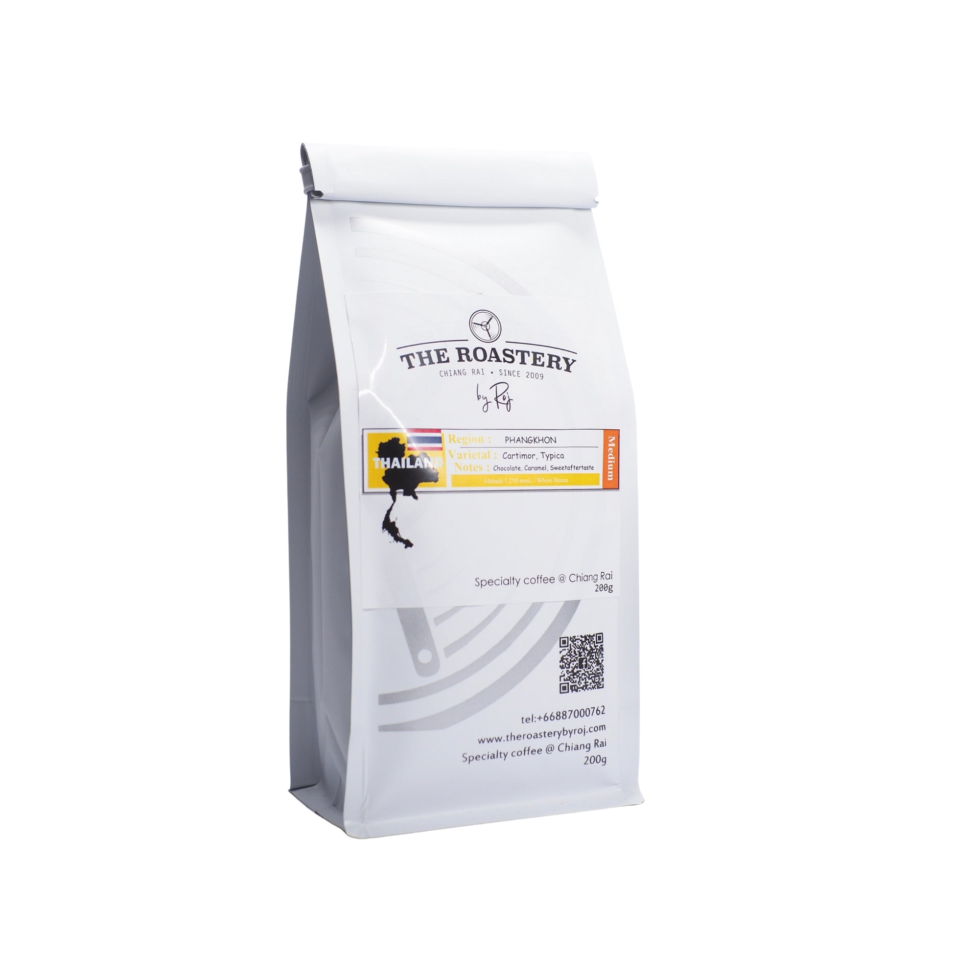 Chiangrai Pangkhon washed Medium Roast 200g