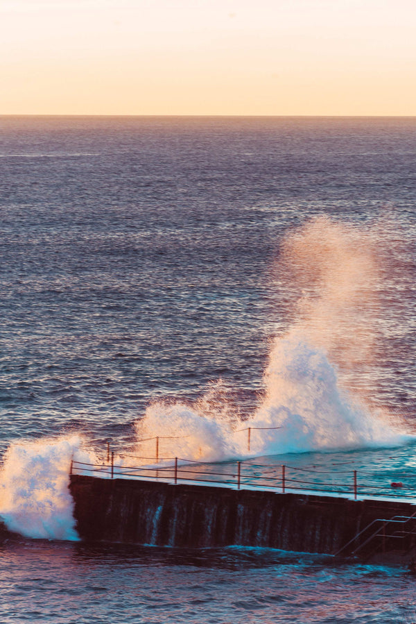 Icebergs Ocean Pool Splash