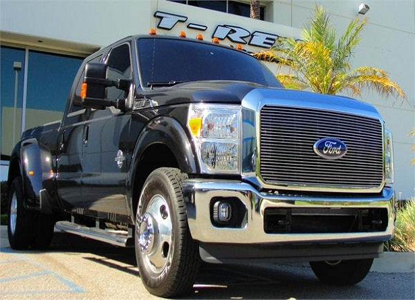 How to Install a Billet Grille on a 2011-2012 Ford Super-Duty