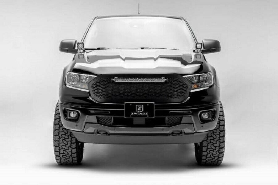 T-Rex 2019-2020 Ford Ranger ZROADZ Grille 1 PC Replacement Include 20 Inch LED Z315821