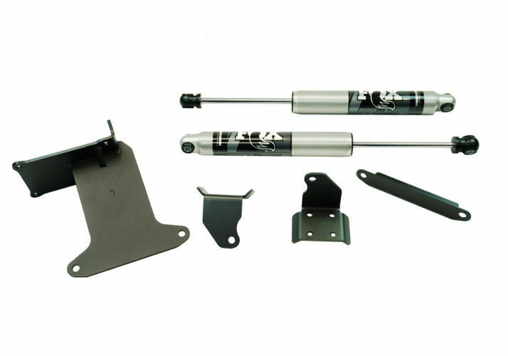 Superlift 2005-2021 Ford F-250 F-350 Super Duty Dual Steering Stabilizer Kit Fox 2.0 Cylinders 92722