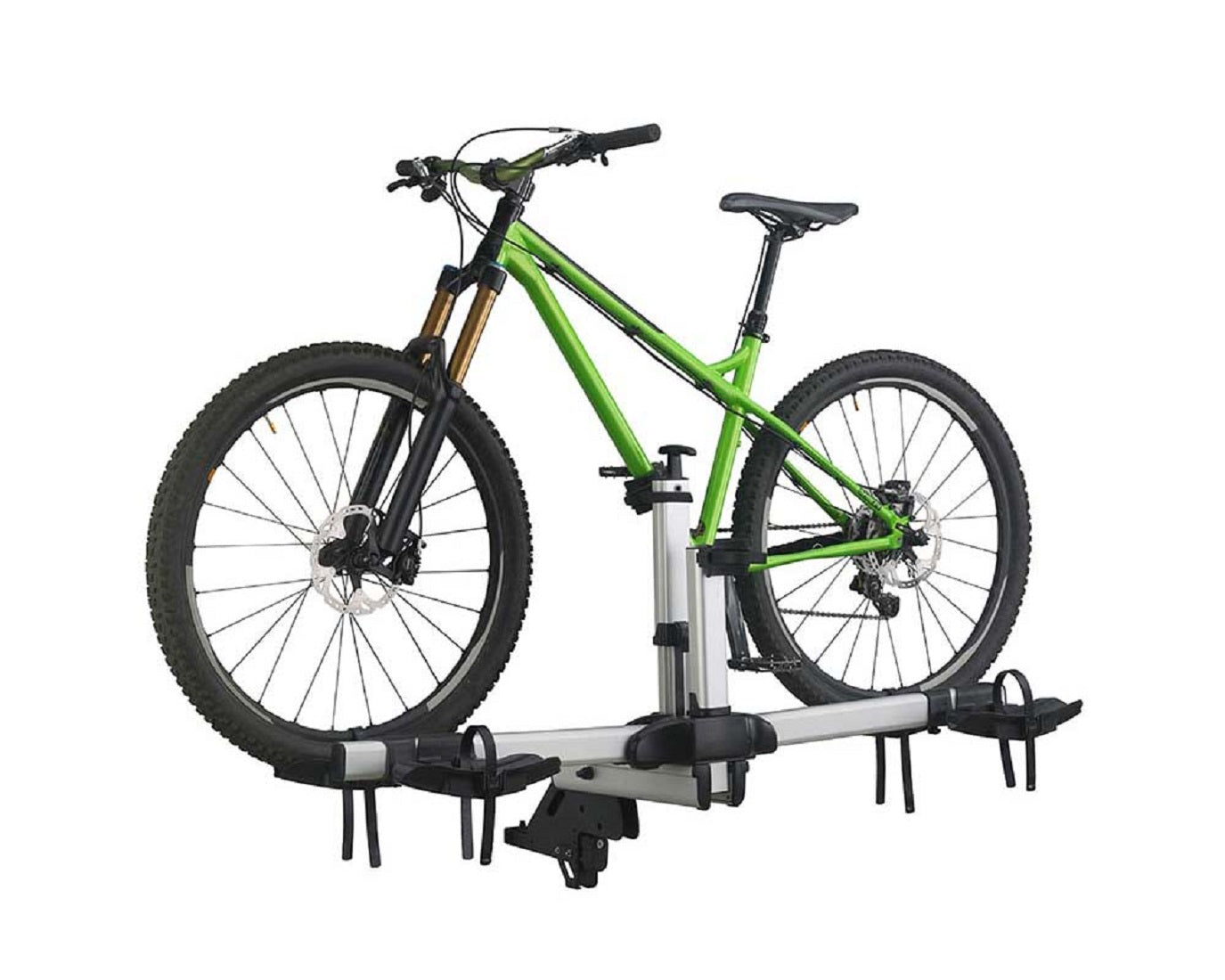 INNO Folding Hitch Quick Mount 2 Bike Carrier INH330