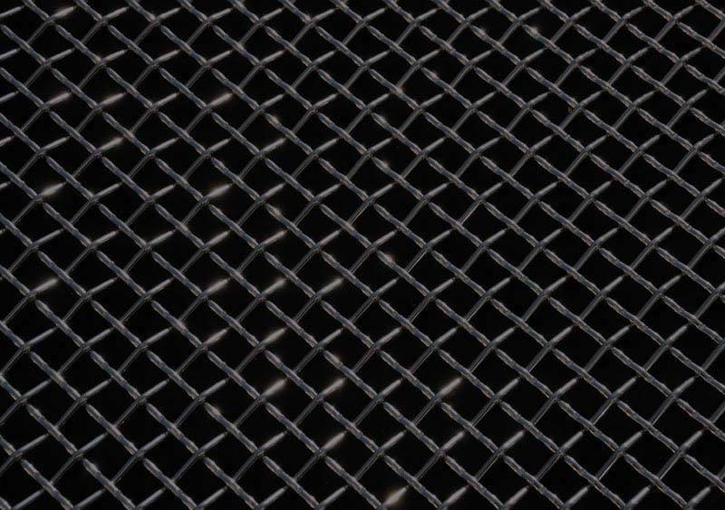 "T-Rex Wire Mesh Flat Stainless Steel Black 12"" x 40"" 51009"