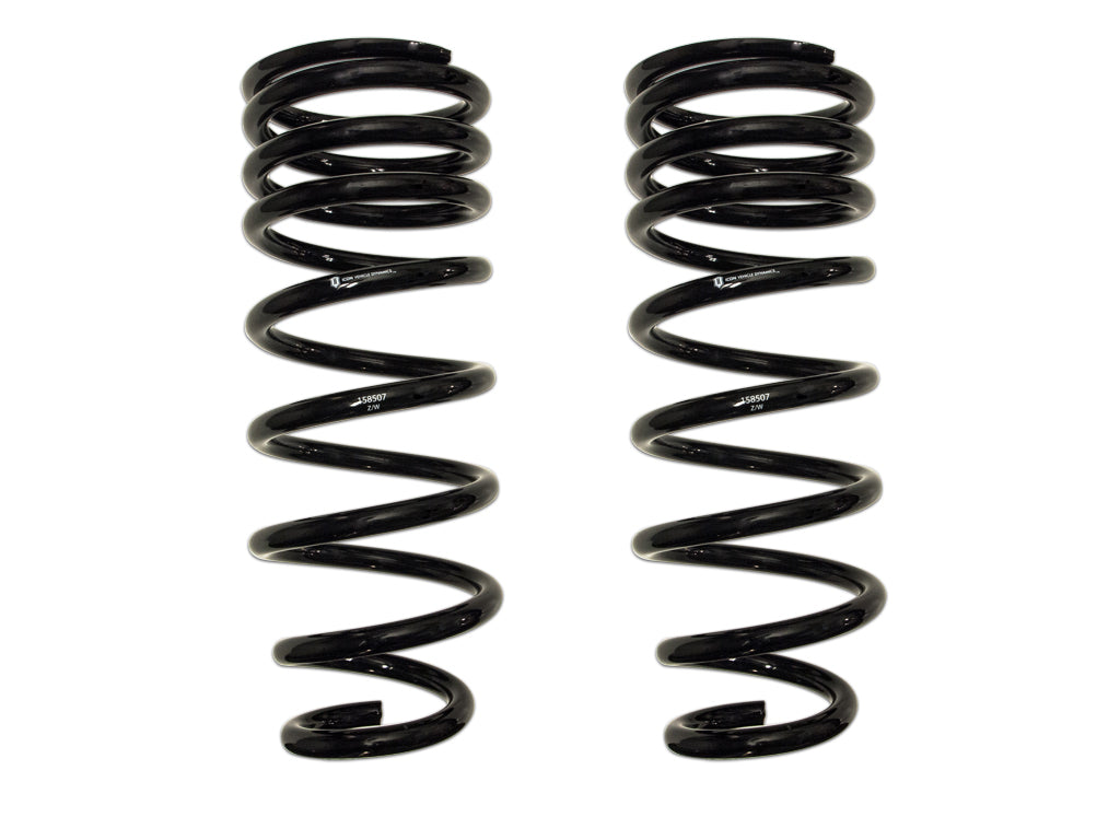 "ICON Vehicle Dynamics 2007-2014 Toyota FJ Cruiser 2003-2020 4Runner 2010-2020 Lexus GX460 2003-2009 GX470 Rear 3"" Lift Dual Rate Spring Kit 52800"