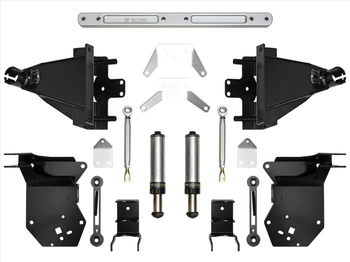 Icon Vehicle Dynamics 2017-2021 Ford Raptor Rear Hyd Bump Stop Kit 95121