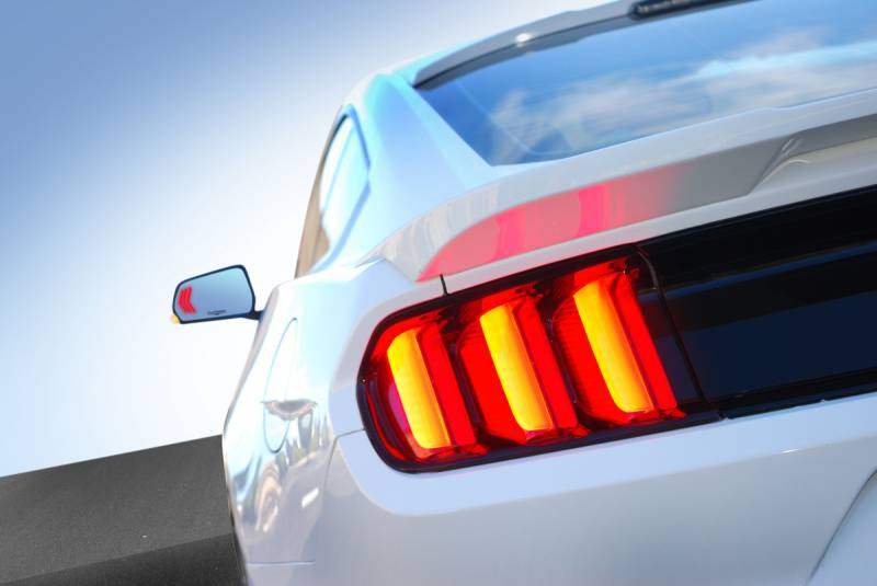 CDC 2015-2017 Ford Mustang Sequential Mirrors with BLIS and Aspheric Glass 1511-7053-01b
