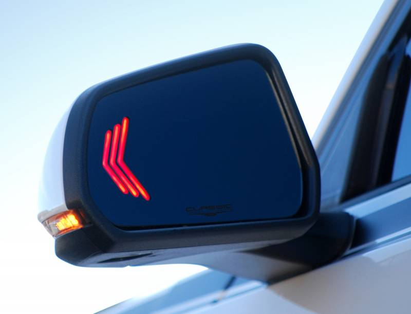 CDC 2015-2017 Ford Mustang Sequential Mirrors with BLIS and Aspheric Glass Objects in Mirror are Losing 1511-7053-01c