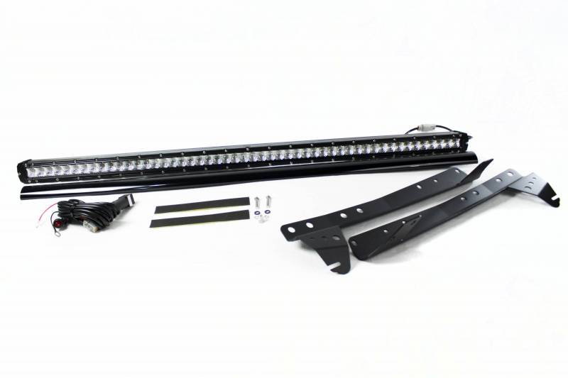 "Race Sport 1984-2001 Jeep Cherokee Roof Mounted Stealth Series 52"" 250W Combo Spot/Flood Beam LED Light Bar Kit RSJ8401-SR"