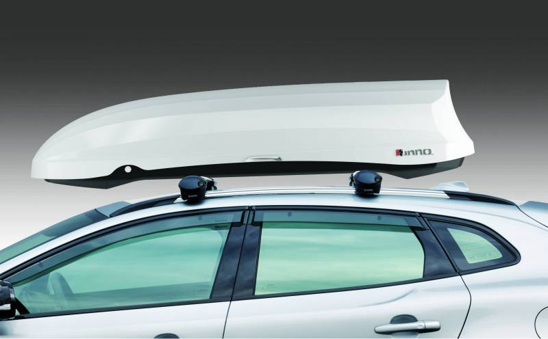 INNO Rack Phantom 466 18cft Cargo Box Durable 3 Layers Sheets Gloss White BRM466WH