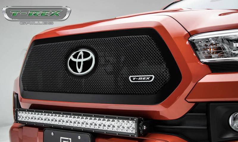 T-Rex 2018-2019 Toyota Tacoma Upper Class Grille Insert Black 51951
