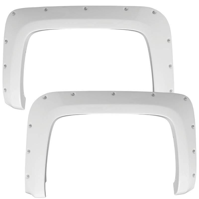 Smittybilt 2016-2018 Chevrolet Silverado 1500 CRL Match M1 Fender Flares Summit White W/ 5.8' Bed 17291-GAZ