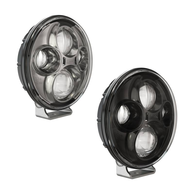 J.W Speakers TS4000 12V 24V PED ECE HB CHROME 551121