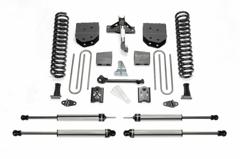 "Fabtech 2005-2007 Ford F-250 4WD 6""Basic System Without Factory Overload DLSS Shocks K2010DL"