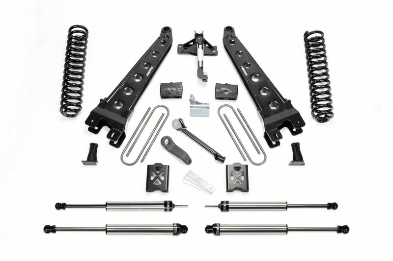 "Fabtech 2005-2007 FORD F-250 4WD 6"" RAD ARM System Without Factory Overload Coils DLSS Shocks K2011DL"