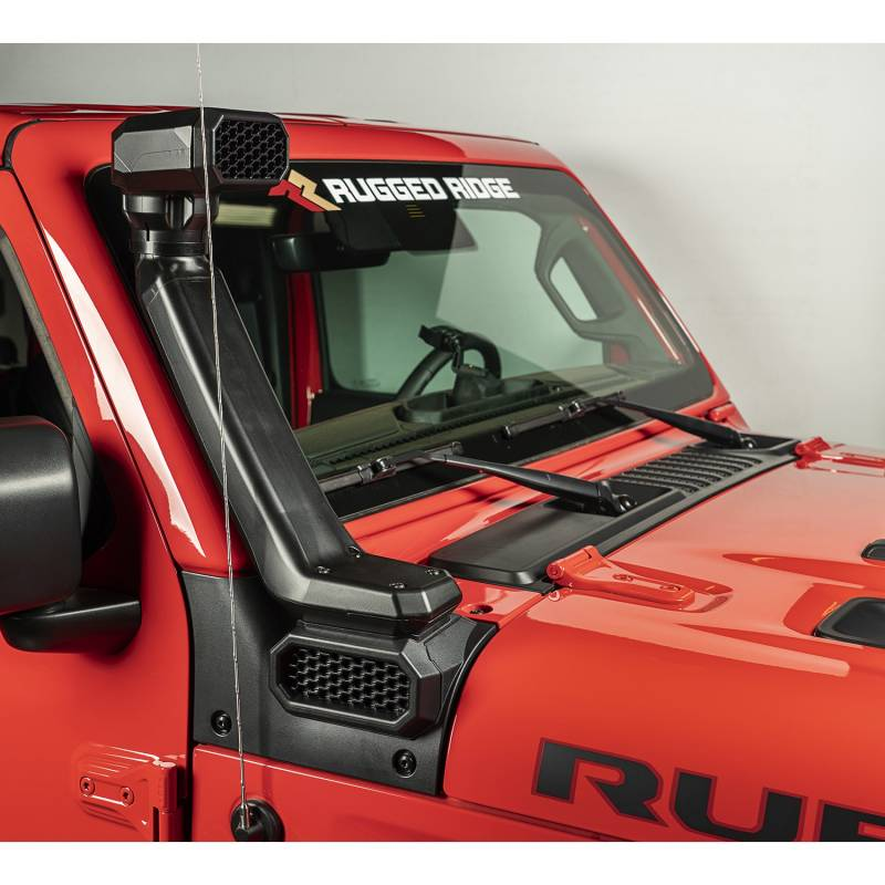 Rugged Ridge 2018-2020 Jeep Wrangler JL 2020-2021 Gladiator JT AmFib Low High Mount Snorkel System 17756.31