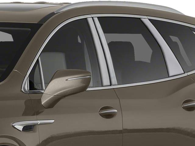 QAA 2018-2020 Buick Enclave 12 piece Stainless Pillar Post Trim with 3 front pieces PP58532