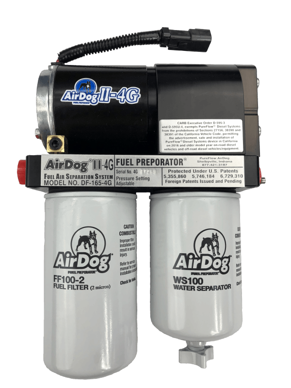 AirDog 1998-2004 Dodge Ram 5.9L Cummins II-4G DF-100-4G With In Tank Fuel Pump A6SPBD354