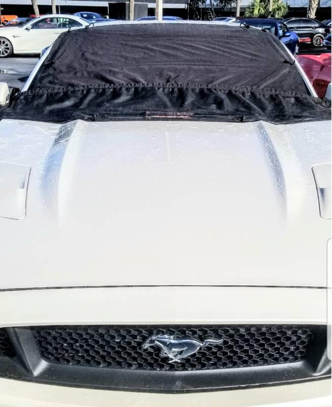 Auto Gutter Leaf Protector Windshield Cover full size trucks and SUV Large Size