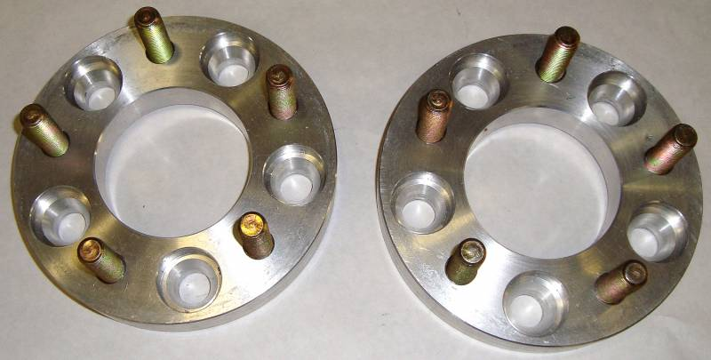 "MORE Wheel Spacer 5 on 4-1/2"" bolt pattern WS5450"