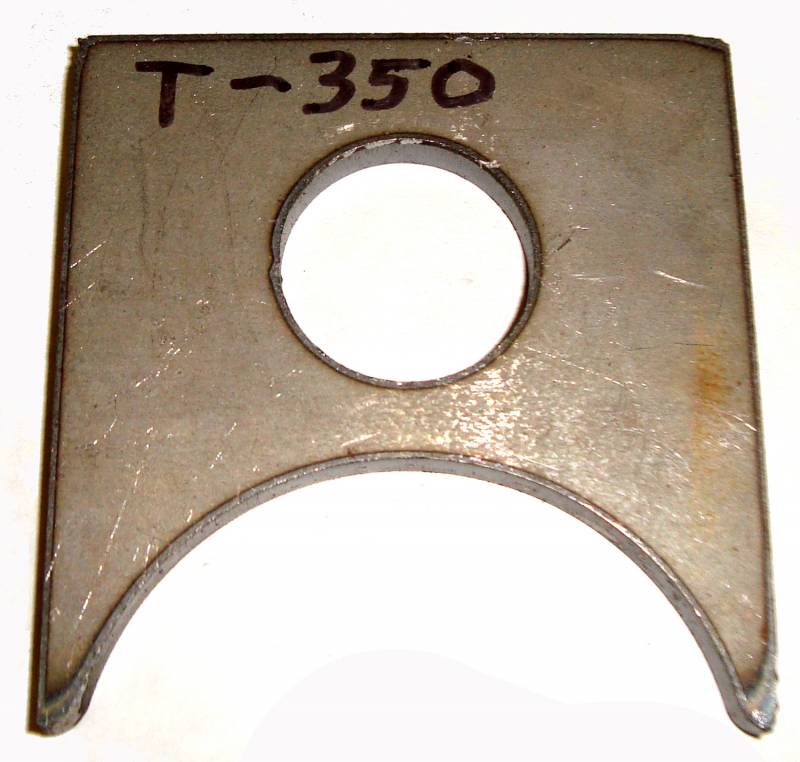"MORE Universal Mounting Tabs 3 3/8"" long T-350"