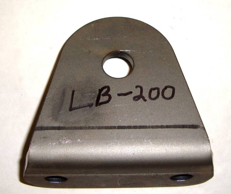 "MORE Universal Mounting Tabs 3"" Long LB-200"