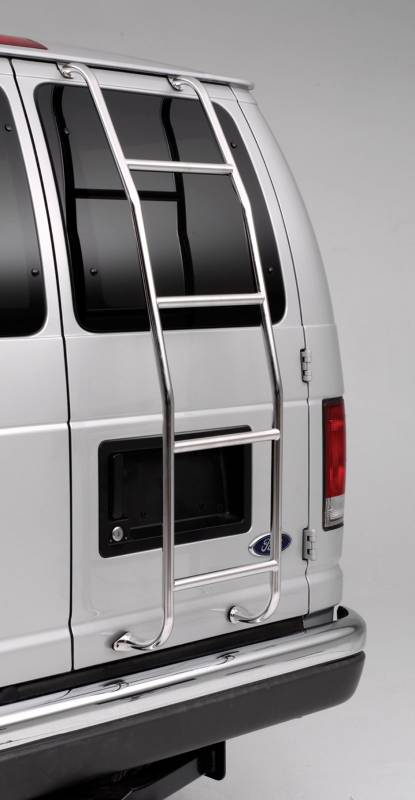 Surco Van Ladder High Gloss Silver Stainless Steel 093