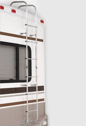 Surco Universal motorhome ladder straight 502L