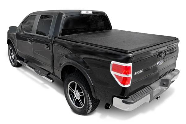 Tonno Pro 2015-2017 Chevrolet Silverado 1500 GMC Sierra1500 2015 Silverado 2500 3500 Sierra 2500 3500 6.6' Standard Short Bed without Utility Track Trifold Tonneau Cover 42-108