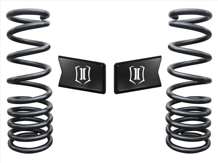 "Icon Vehicle Dynamics 2003-2012 Dodge Ram 3500 2003-2013 2500 4wd 4.5"" Lift Dual Rate Spring Kit 214010"