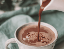 Load image into Gallery viewer, pouring hot original cocoa powder