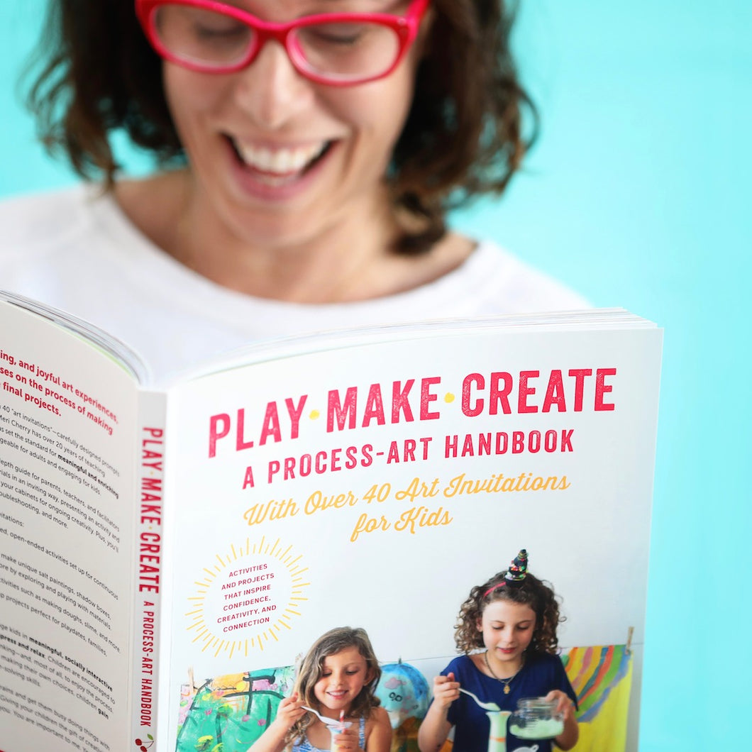 PLAY MAKE CREATE: A Process Art Handbook | Signed Copy