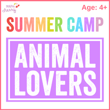Load image into Gallery viewer, Animal Lovers Camp | Studio
