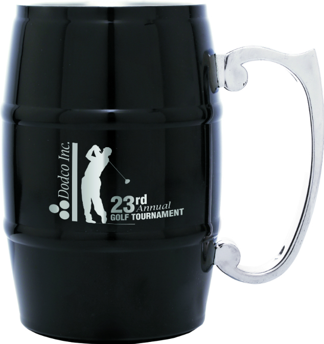 Personalized Barrel Mug