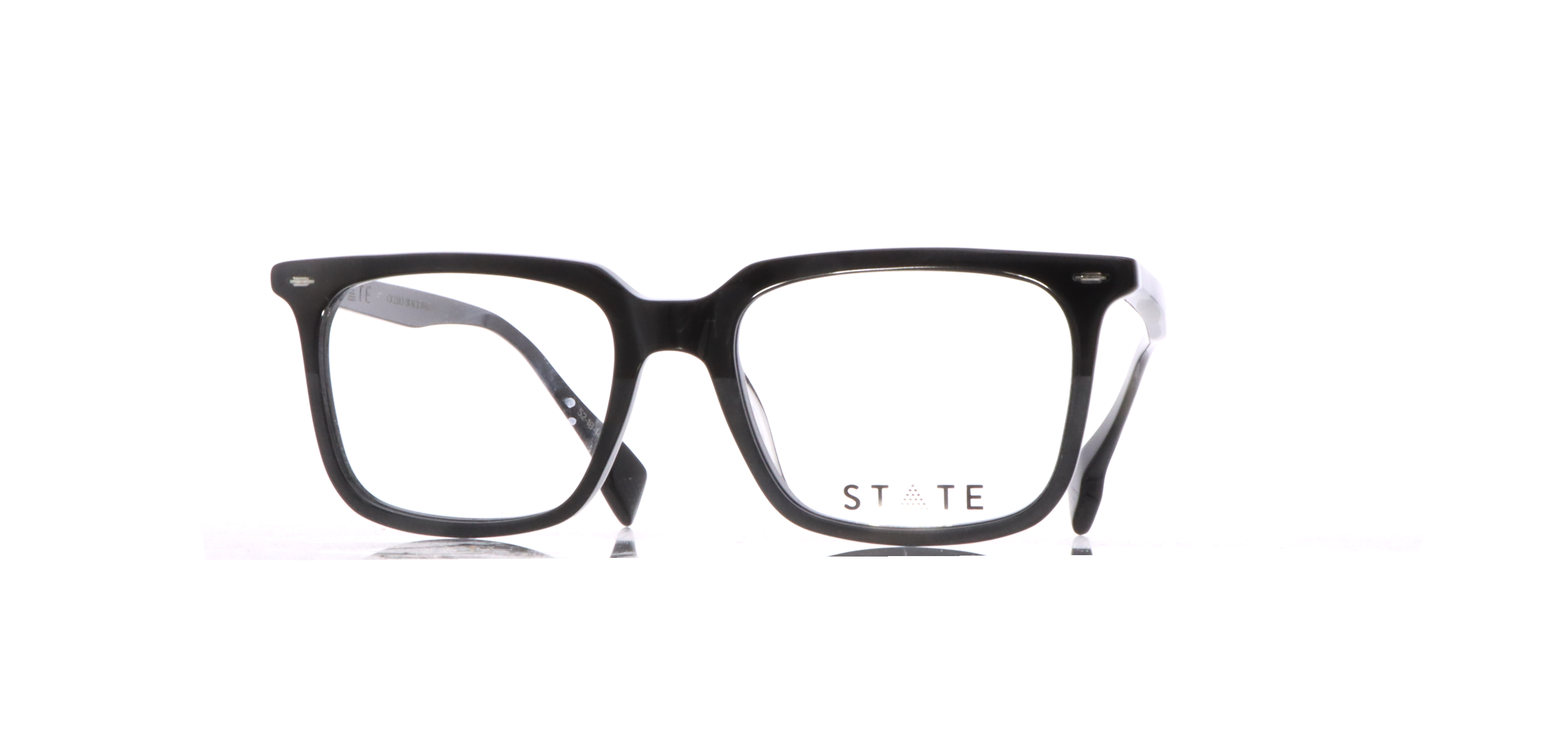State-Cicero-Black-Matte-luxury-eyewear-Reimbold-Eye-Group-North-Atlanta-GA-eye-doctor-exams