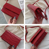 Mini Stone Pattern Crossbody Bags For Women 2020 Pu Leather Purses and Handbags New Designer Ladies Shoulder Messenger Bag