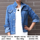 Jeans Jacket and Coats for Women 2019 Autumn Candy Color Casual Short Denim Jacket Chaqueta Mujer Casaco Jaqueta Feminina