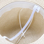 simple Foldable Wide Brim Floppy Girls Straw Hat Sun Hat Beach Women Summer Hat UV Protect Travel Cap Lady Cap Female