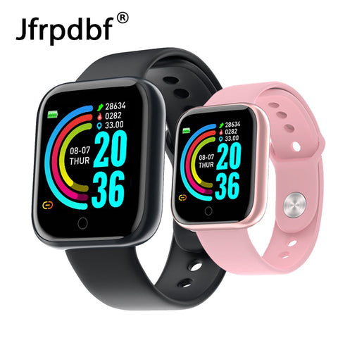 2020 Smart Watch Women Men Smartwatch For Android IOS Electronics Smart Clock Fitness Tracker Silicone Strap Smart watch Hours