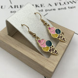 Creative of Mineral Water Bottles Earrings Cute Handmade Earrings