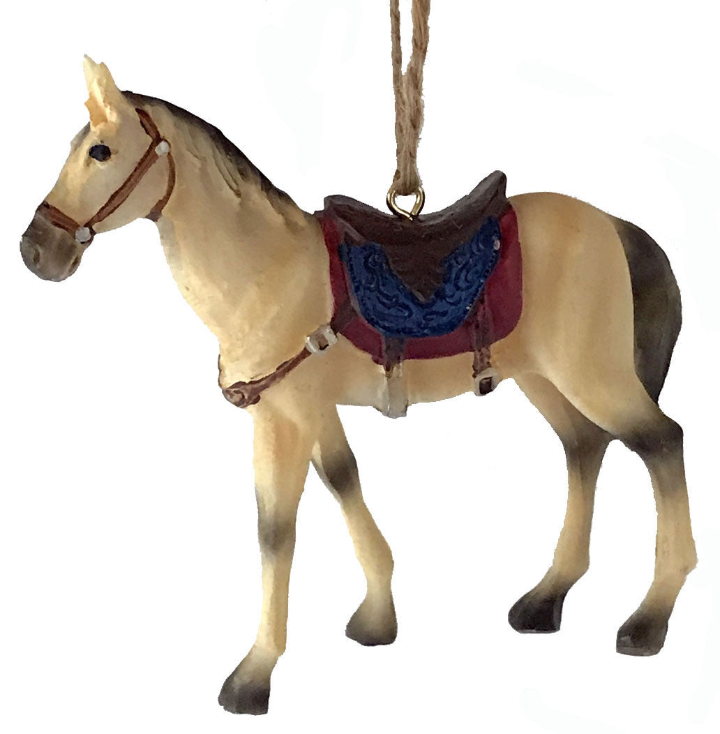 Horse Ornaments – North Pole West Cowboy Christmas