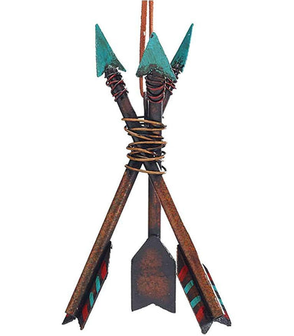 3 arrows Southwestern Native American style Christmas ornament