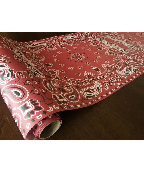cowboy country western bandana table runner for western weddings,birthday parties and bbq