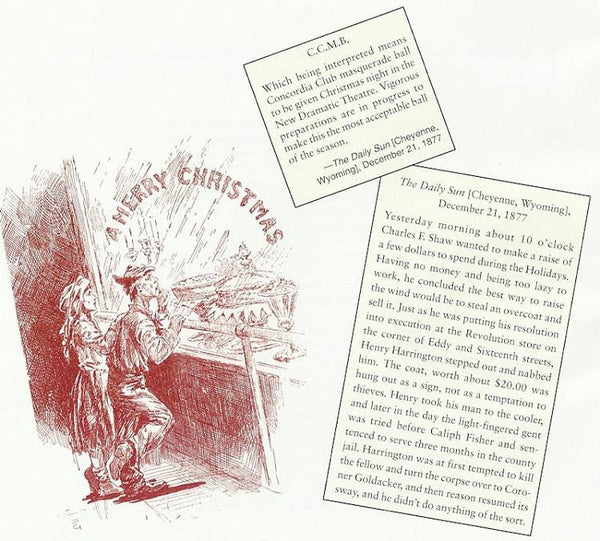 Christmas in the Old West Book - North Pole West Cowboy Christmas Store - 3