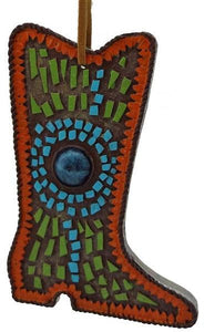 Southwestern Cowboy Boot Ornament - North Pole West Cowboy Christmas Store - 1